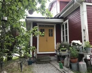 Entré tillbyggnad, Norra Stockholm.