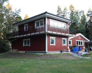 Villa tillbyggnad, Salems kommun.