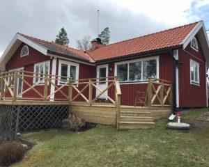 Sommarstuga tillbyggnad, Ingarö.